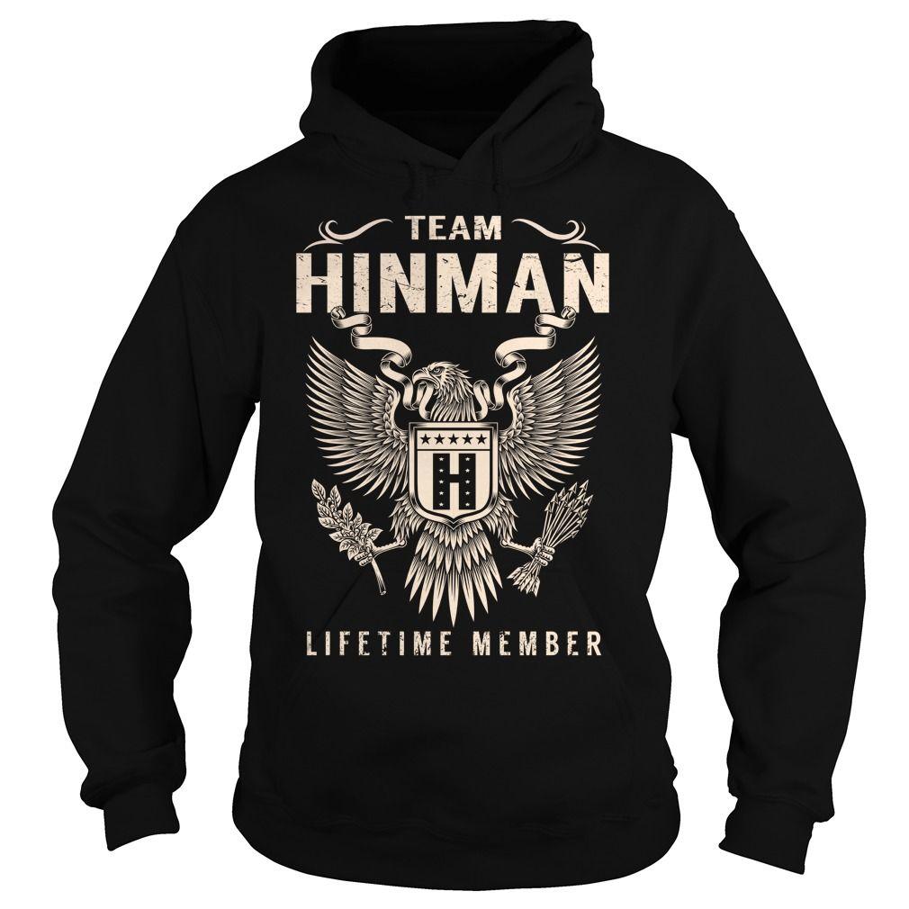 Team HINMAN Lifetime Member - Last Name, Surname T-Shirt