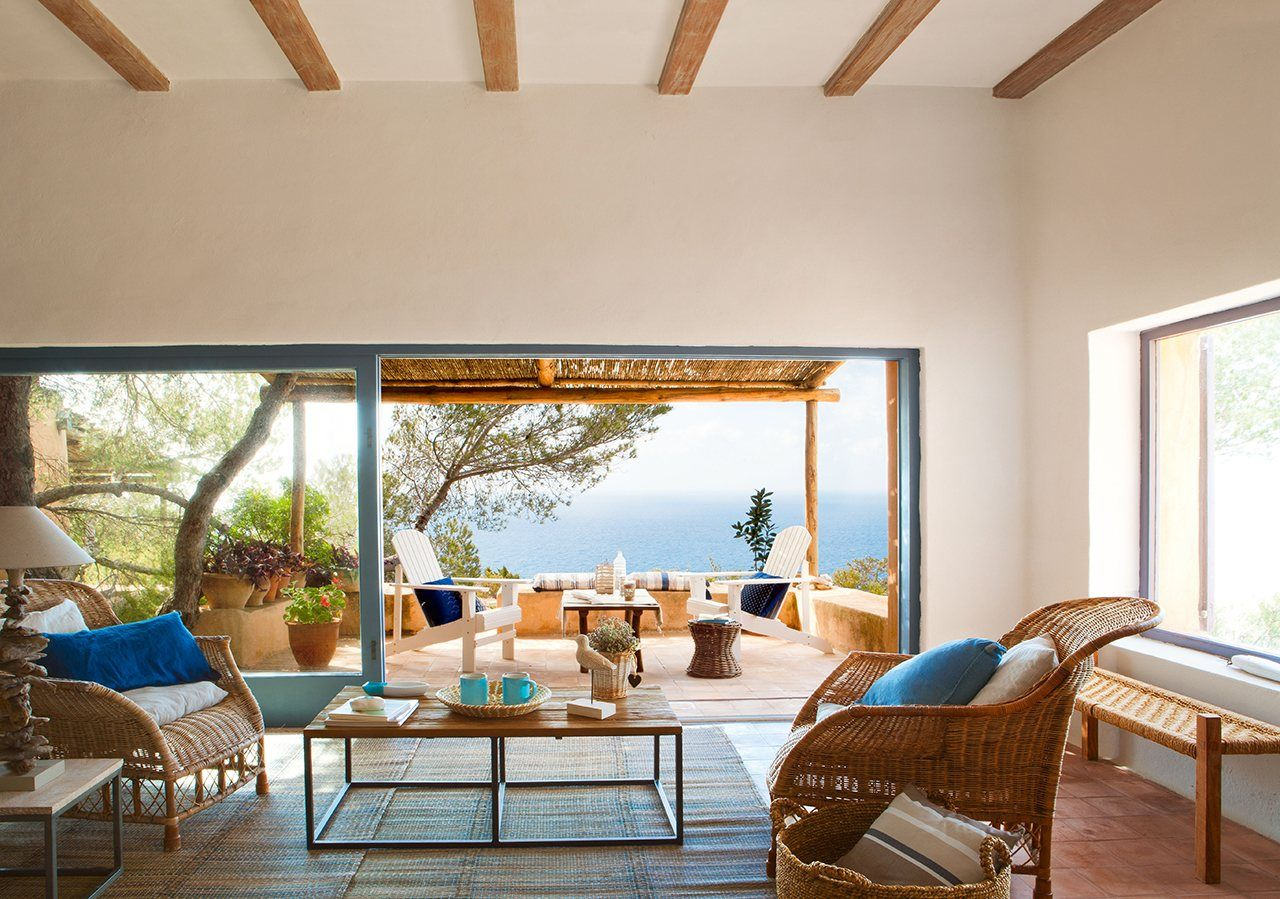 15 salones espectaculares abrazados por el paisaje | Pinterest ...