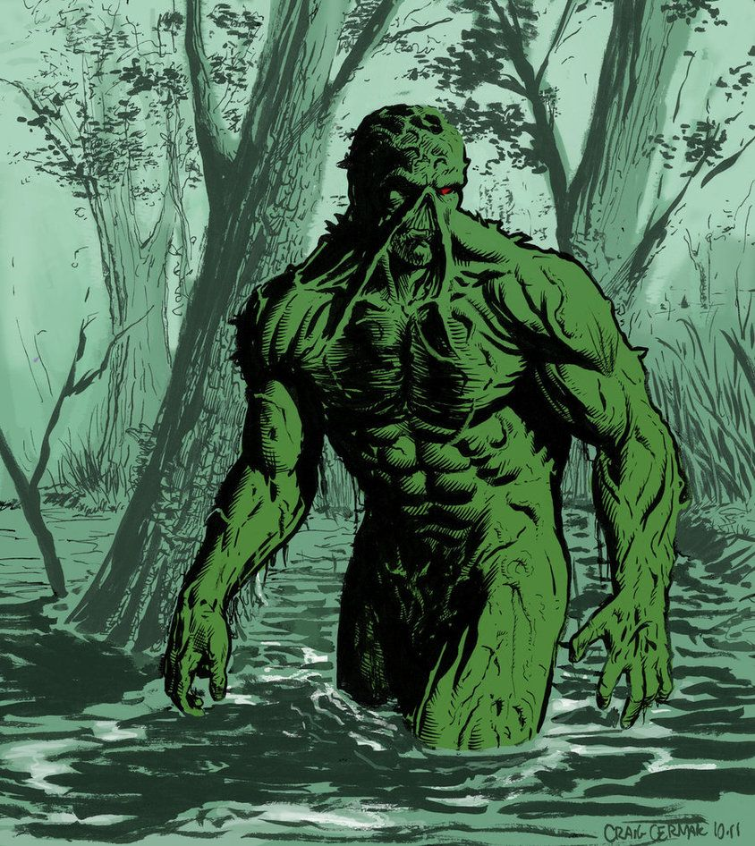 Swamp Thing by craigcermak on DeviantArt | Comic Book: Pin-Ups ...