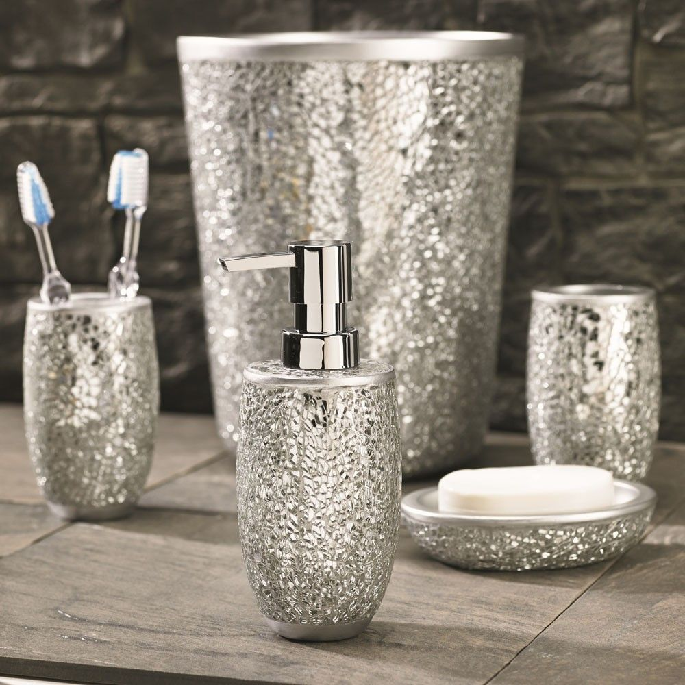 Welcome To Bathroom Accessories Silver Bathroom