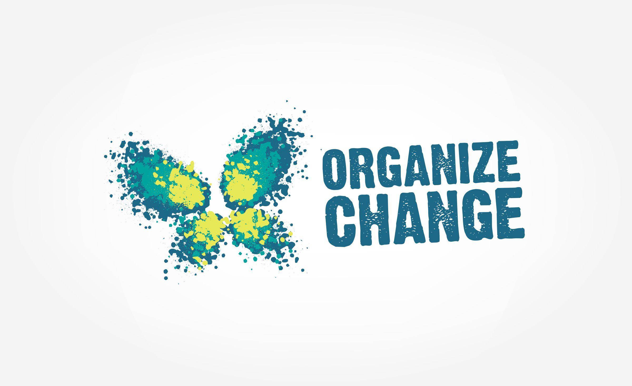 Organize Change Graphic D Signs Corporate Logo Design Logo Design Portfolio Logo