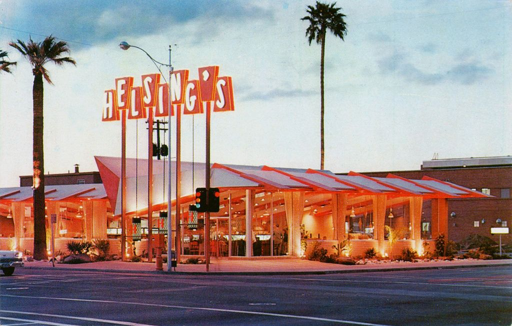 Helsings restaurant phoenix arizona googie architecture