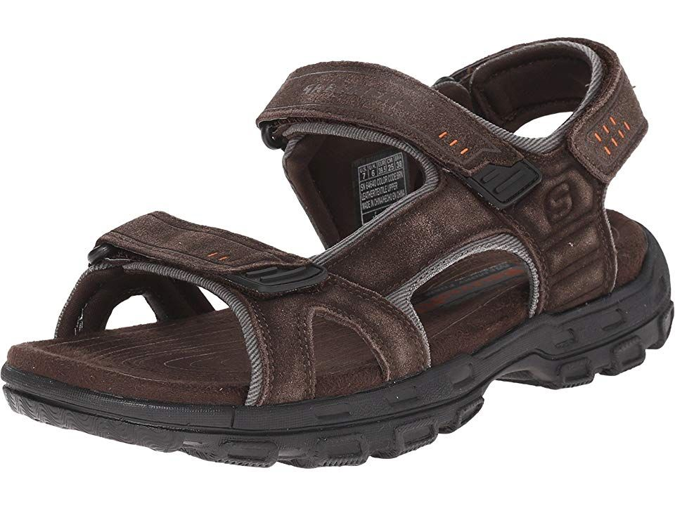 79a2ab045261 SKECHERS Relaxed Fit 360 Gander - Alec Men s Sandals Brown in 2019 ...