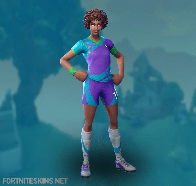 Fortnite Dynamic Dribbler Skin Rare Outfit Fortnite Skins Fortnite Clan Outfits