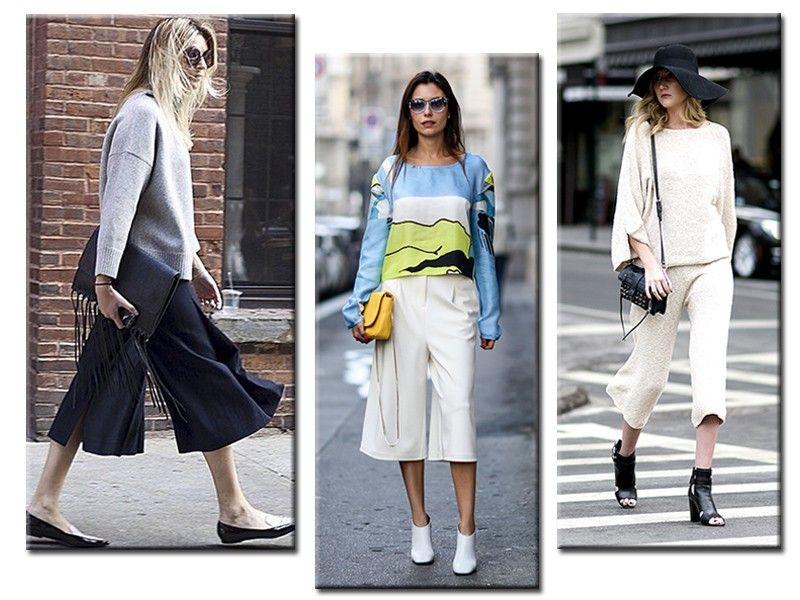 A calça cropped deixa apenas as canelas à mostra, ou seja, você não irá passar frio e nem calor (Foto: Reprodução/Instagram Chronicles of her/ImaxTree)