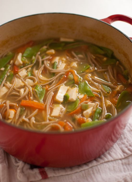 vegetarian miso soup