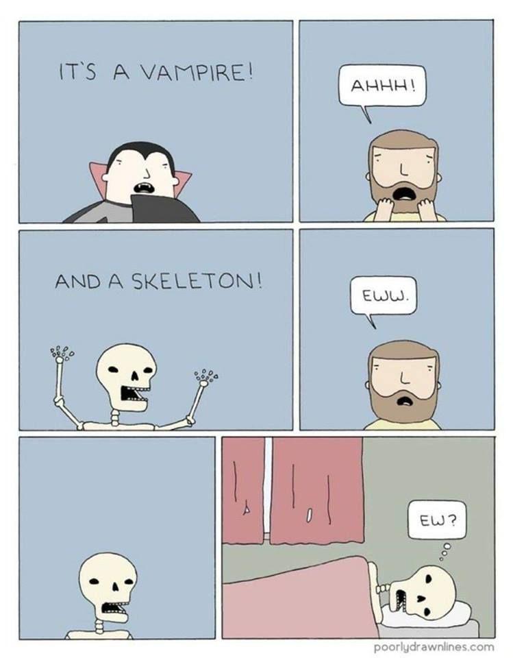 That Poor Skeleton Needs A Hug Funny Memes Funny Comics Funny