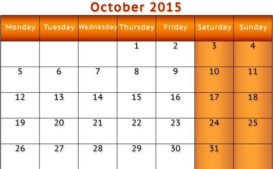 October  Calendar To Print Tumblr Calendar Printable Pdf