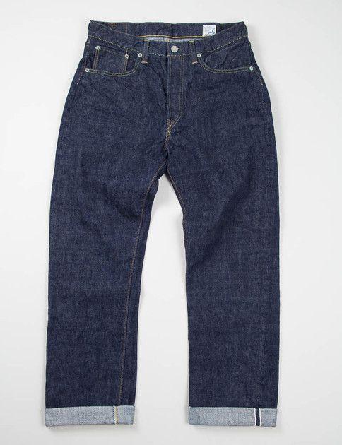 orSlow Indigo One Wash Standard 5 Pocket Jean