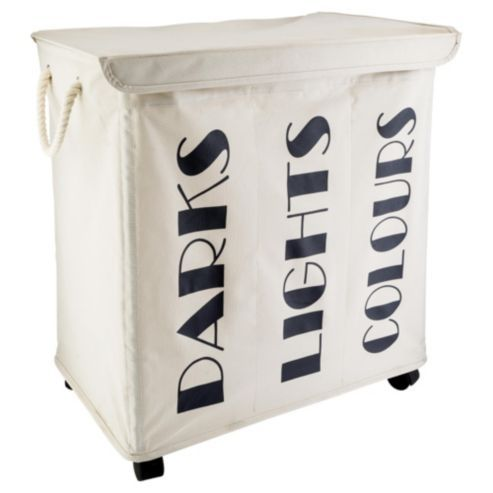 Darks Lights Colours Laundry Hamper