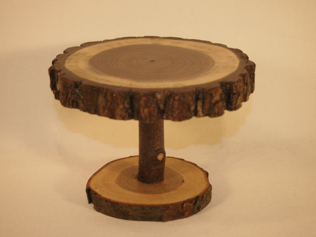 5 pedestal stand rustic wood slice display stand plant