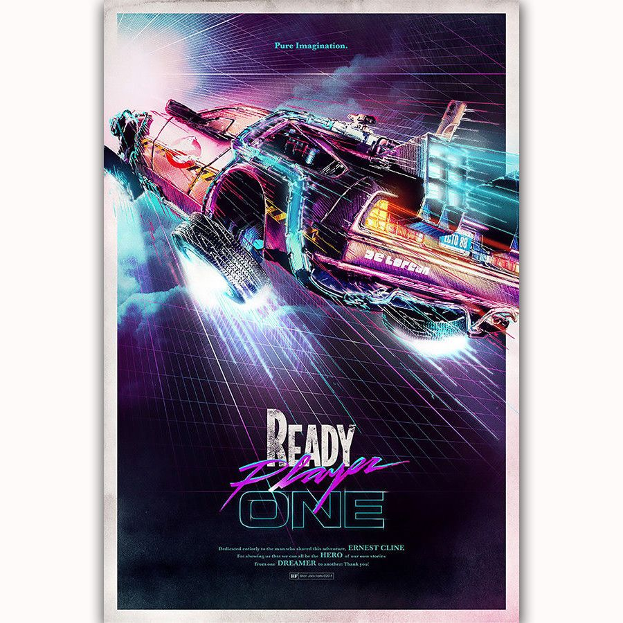 2018 Back To The Future Movie Film New Art Poster Silk