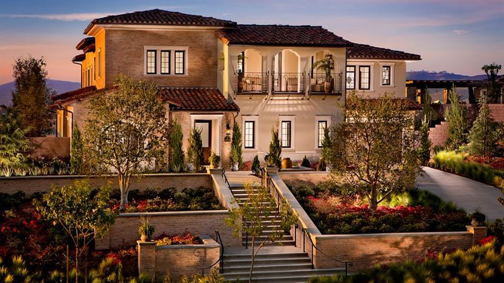 Donatello Residence 3 Plan The Estates At Del Sur San Diego