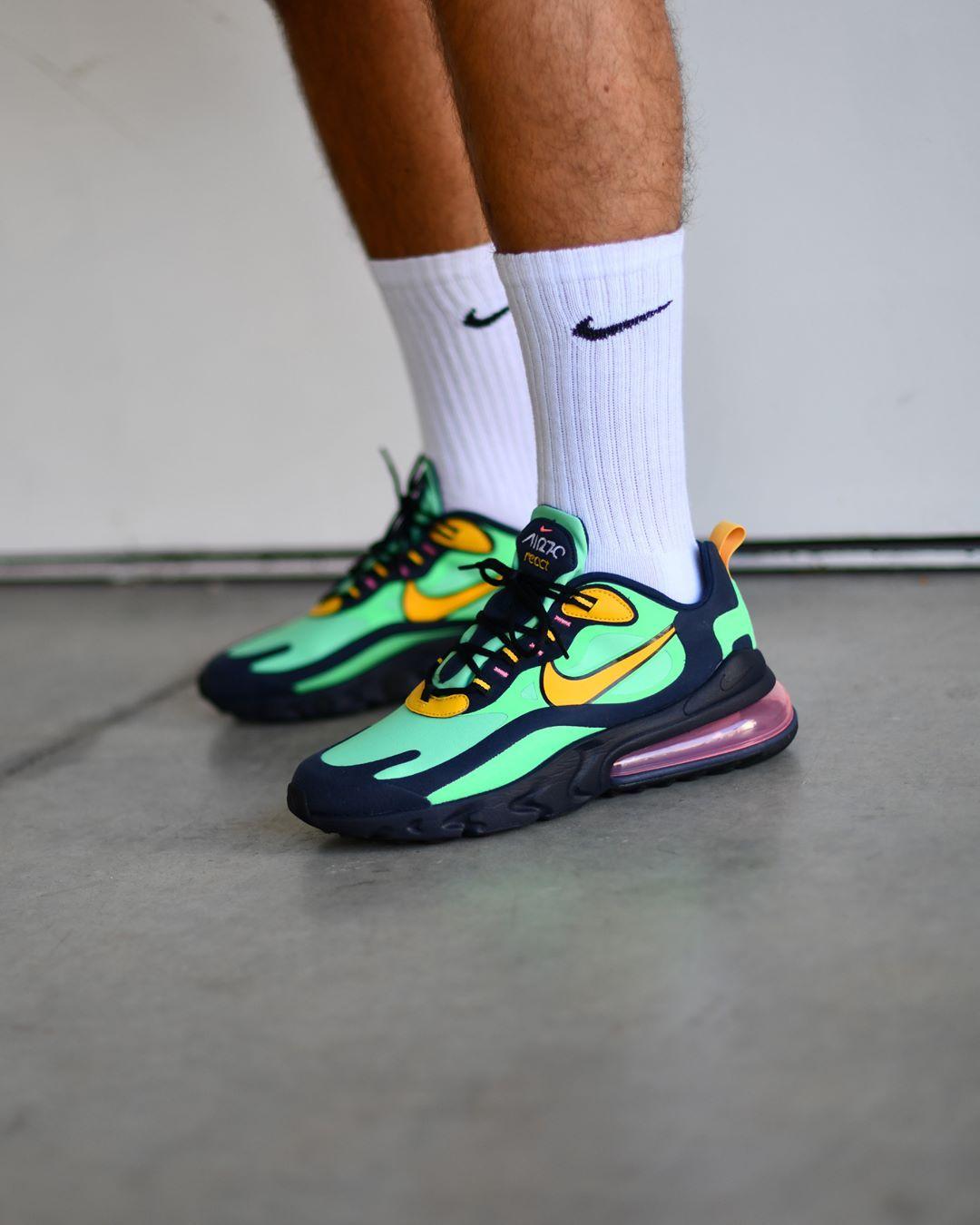 regular comestible liderazgo  Nike Air max 270 React Pop Art . Available on SNKRS.COM . Disponible sur  SNKRS.COM