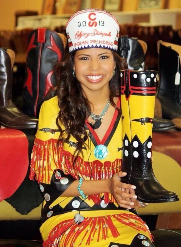 Amber Big Plume 2013 Calgary Stampede Princess