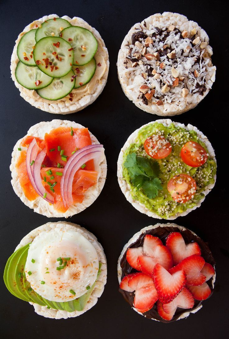 Healthy rice cake toppings my healthy dish in 2020