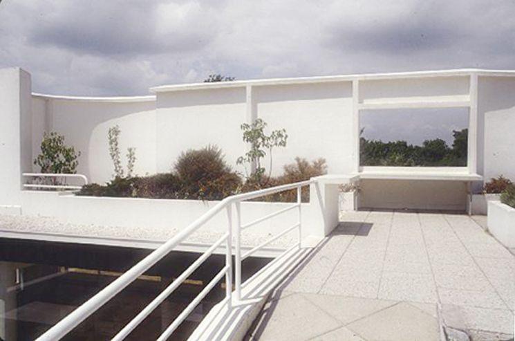 le-corbusier-villa-savoye-cubierta-03 Le Corbusier (1887-1965