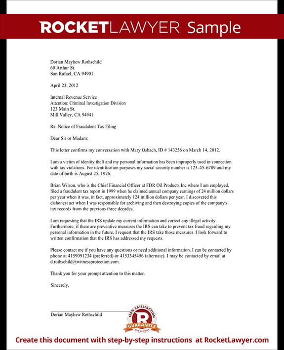 11 Application Letter Tax Preparer Template Proposal