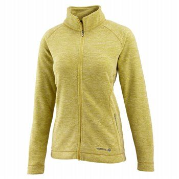 MERRELL Women's Zaida Full Zip Accessories (Citron Heather)- 20.5 OT