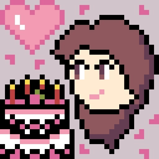 My Moms Birthday So I Made A Pixel Art Pixel Art Mom
