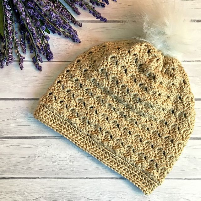 This Crochet Hat Pattern Is Particularly Elegant With The Detail Of