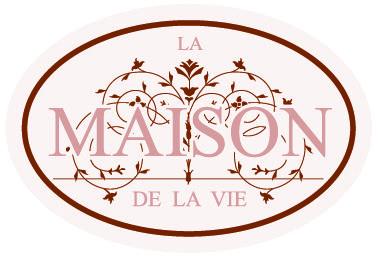 """Logo """"La maison de la Vie"""" a Lissone Via Galvani, 18"""