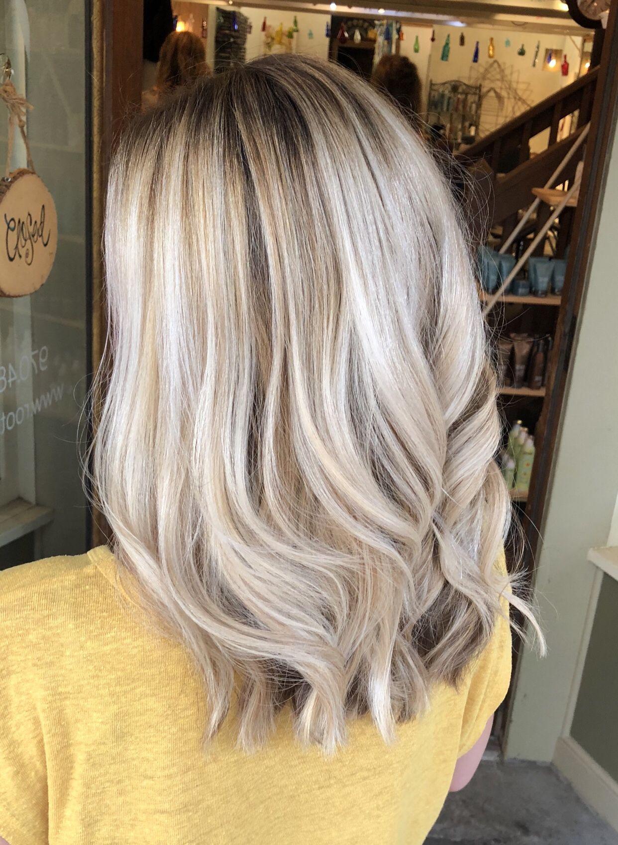 Blonde Hair Bright Blonde Hair Light Blonde Hair Creamy Blonde