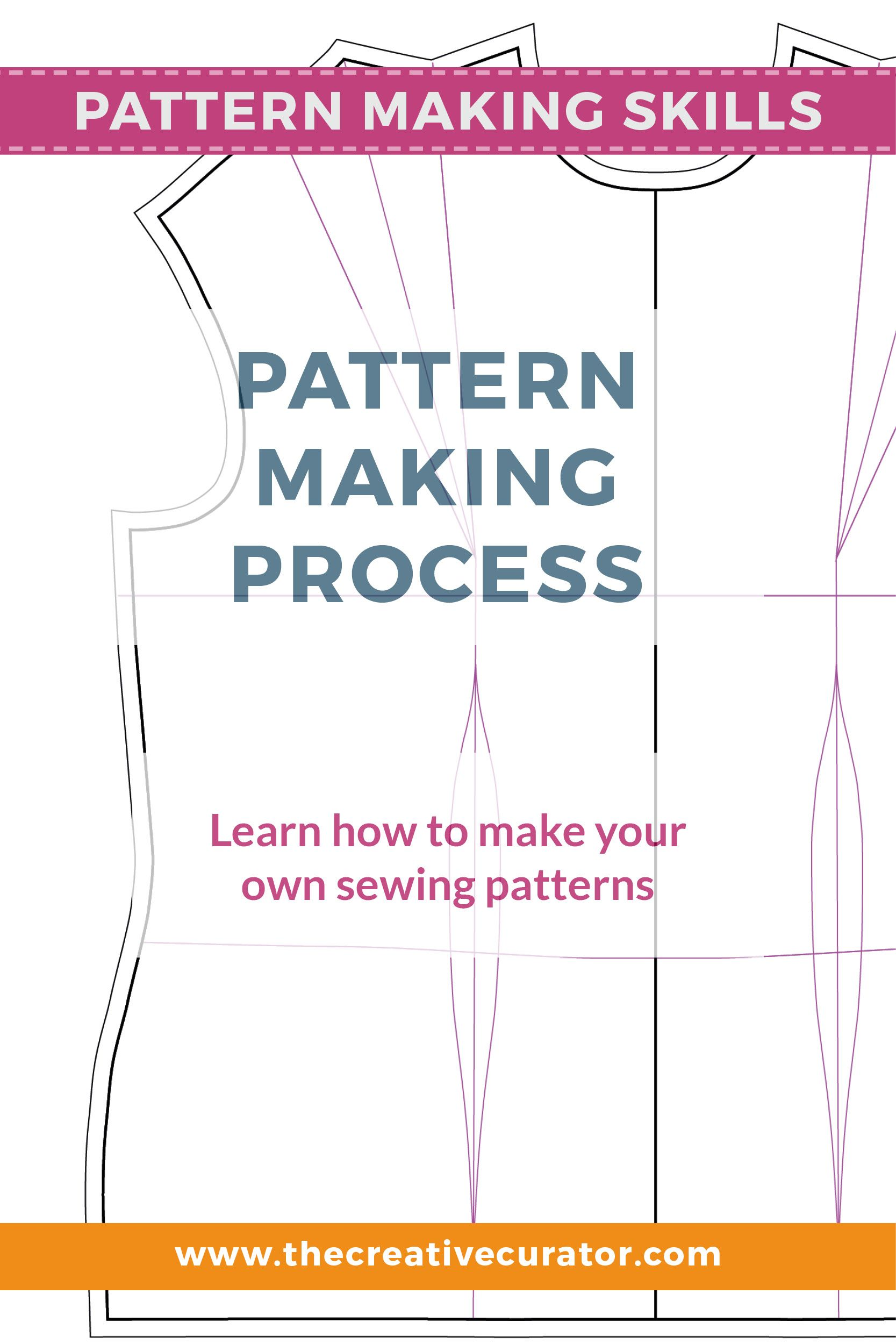 Pattern Making How To Make Your Own Patterns Pattern Making