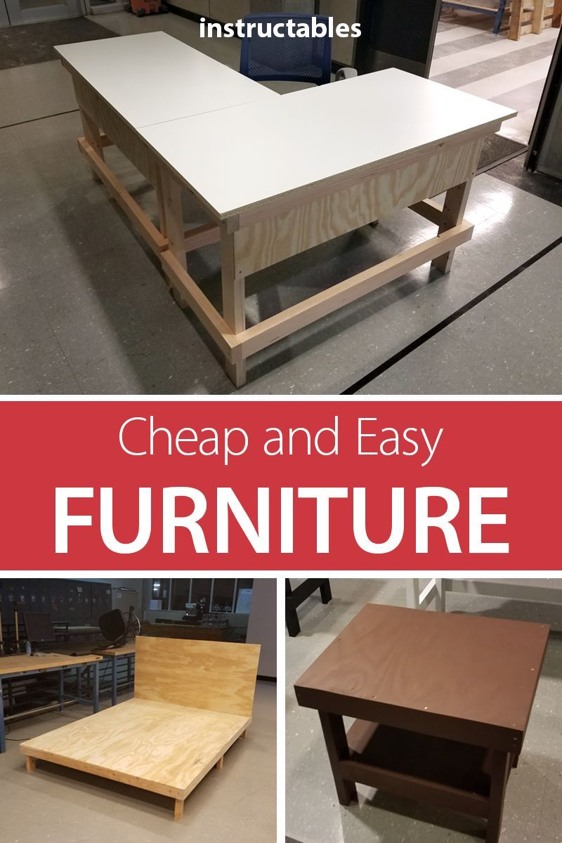 Cheap and Easy DIY Dorm/apartment Furniture (With images) | Diy