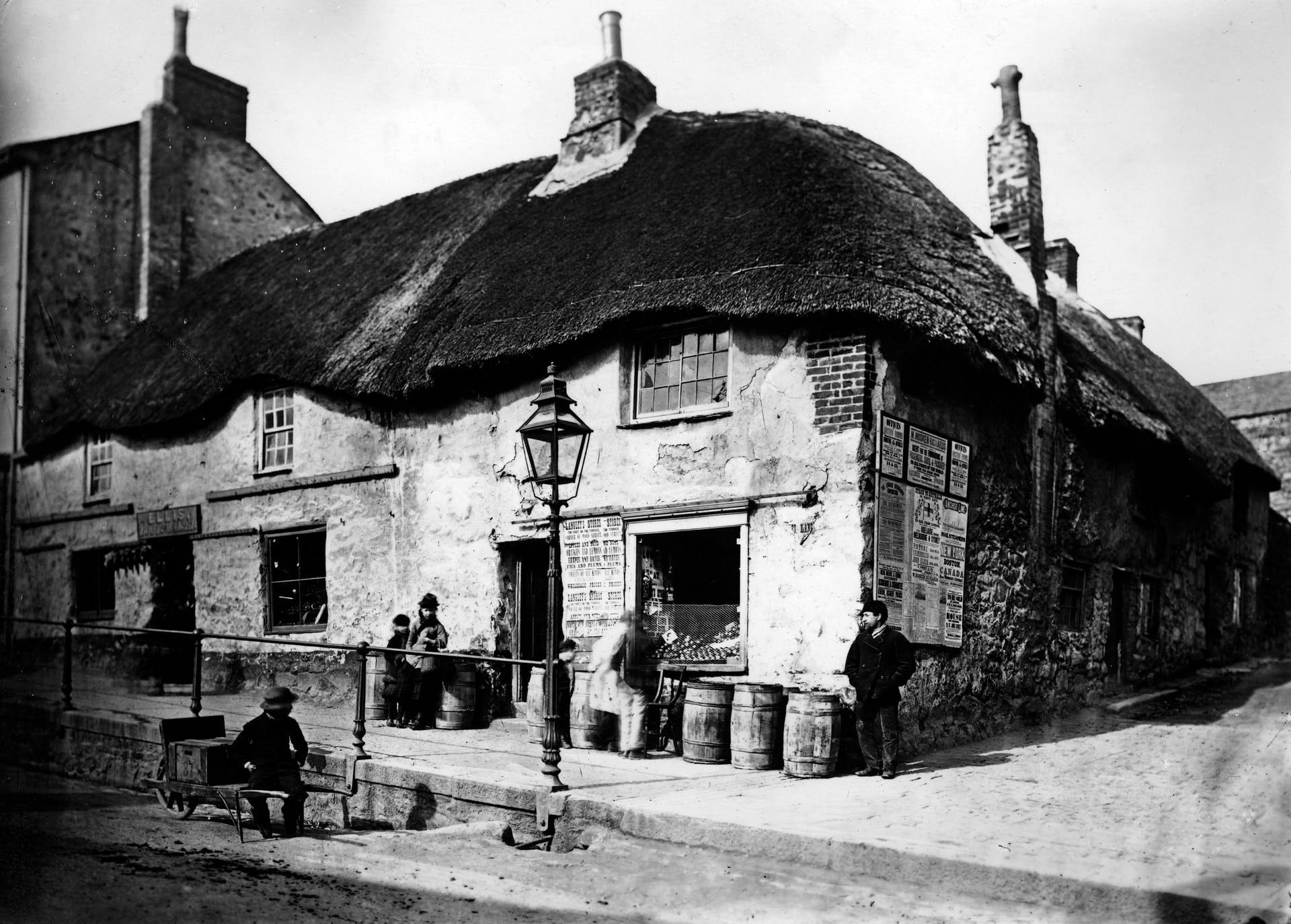 Everyday Life In Cornwall Captured In The 19th Century In