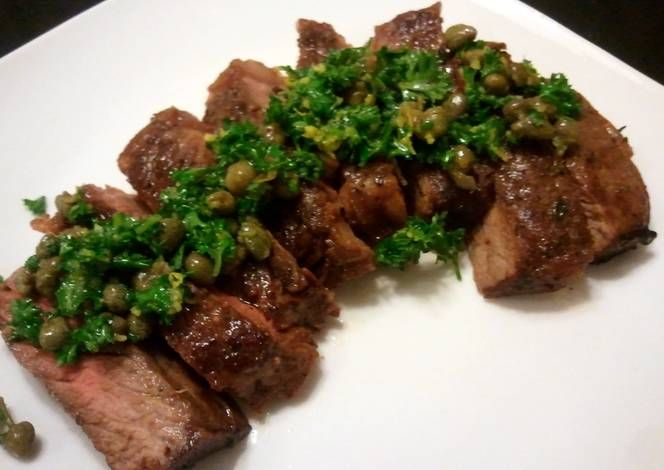 Strip steak Recipe -  Yummy this dish is very delicous. Let's make Strip steak in your home!