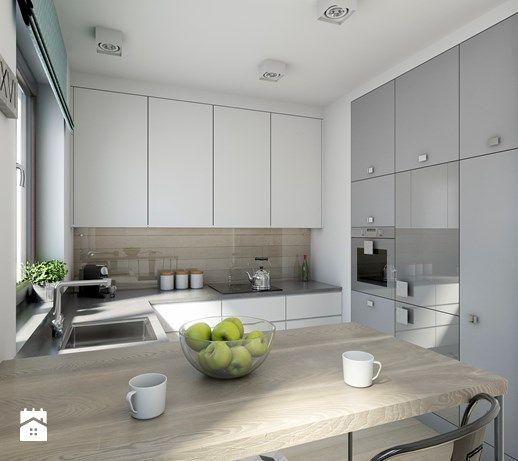 Aranzacje Wnetrz Kuchnia Industrialnie Na 48m2 Kuchnia Styl Industrialny Pracownia Wielkie Rzeczy P Kitchen Inspirations Kitchen Design Modern Kitchen