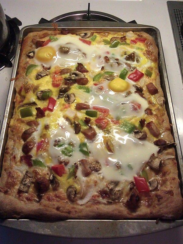 Breakfast Pizza!