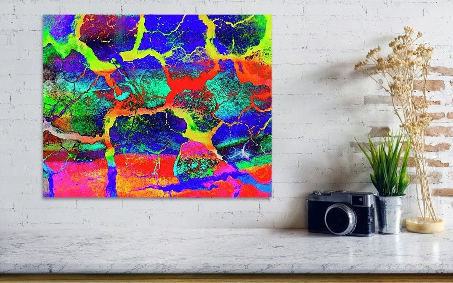 Colours Poster by Bob Pardue. Use this fine art mixed media as a vertical or landscape poster for your home or office decor. #abstractphoto #photosforsale #homedecorideas #fposter #wallart #artwork