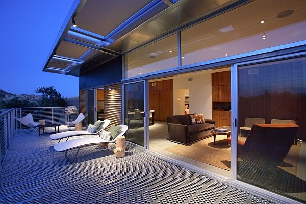 Metallic Structure Homes With Stunning Design