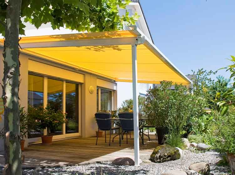 Retractable Patio Shade Awnings