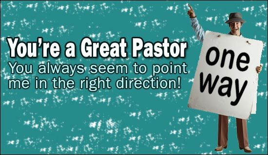 Free You're A Great Pastor eCard eMail Free Personalized