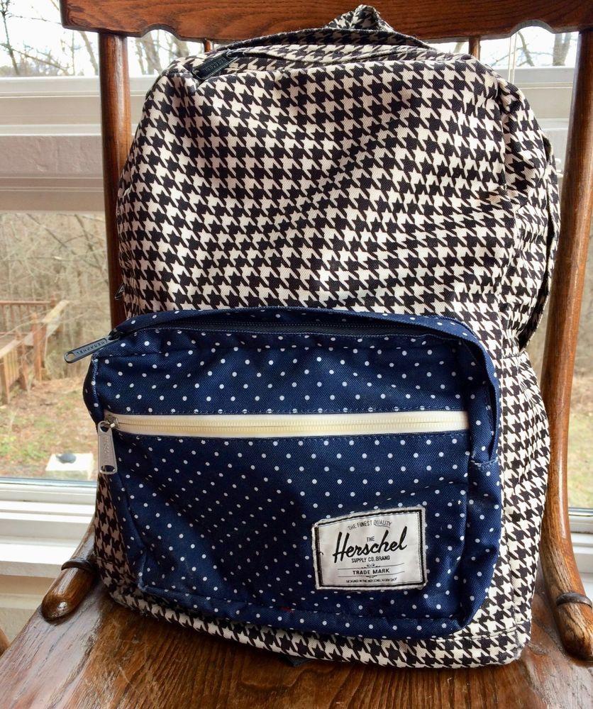 020a3ad299a Details about Herschel Pop Quiz Backpack Book Bag School Bag Navy ...