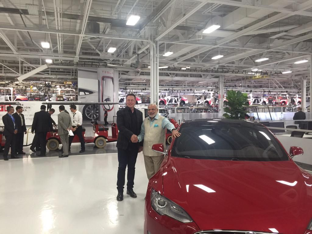 PMO India on Tesla ceo, Tata motors, Elon musk