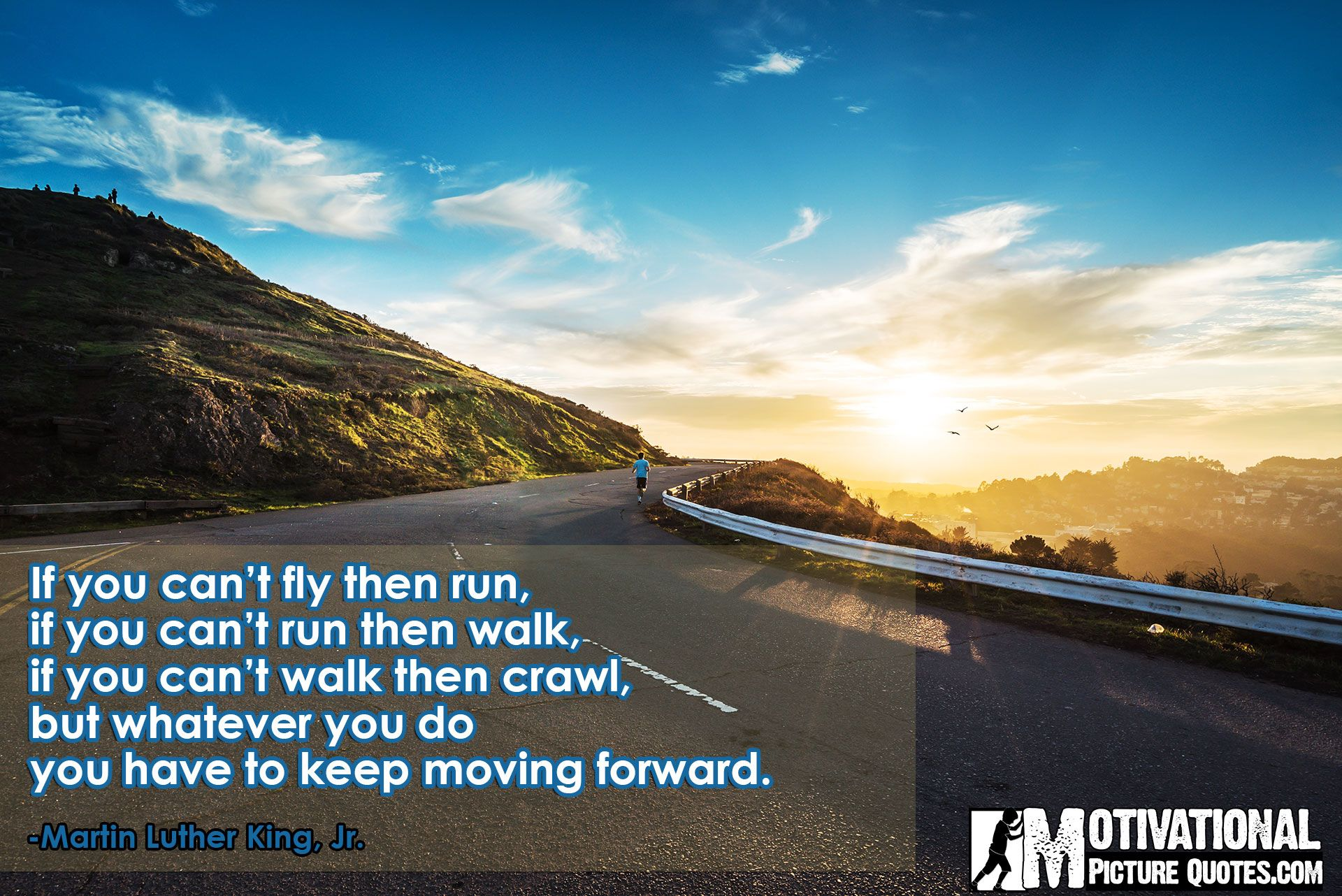 keep moving forward quote by martin luther king jr