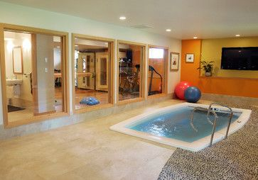 Hot Tub Gym Design Ideas Pictures Remodel And Decor Gym Design Remodel Design