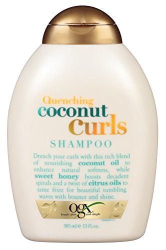 Ogx Shampoo Quenching Coconut Curls 13oz 2 Pack You Can Get More Details By Clicking On The Image Note It Is Shampoo For Curly Hair Curl Shampoo Ogx Shampoo