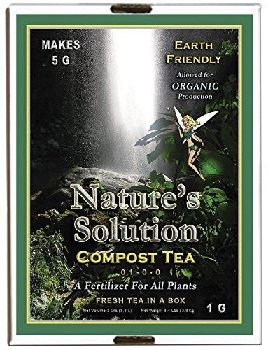Natures Solution Ntcomteag Organic Compost Tea Fertilizer 1 Gallon To View Further For This Item Visit The Image Link Compost Tea Manure Tea Compost