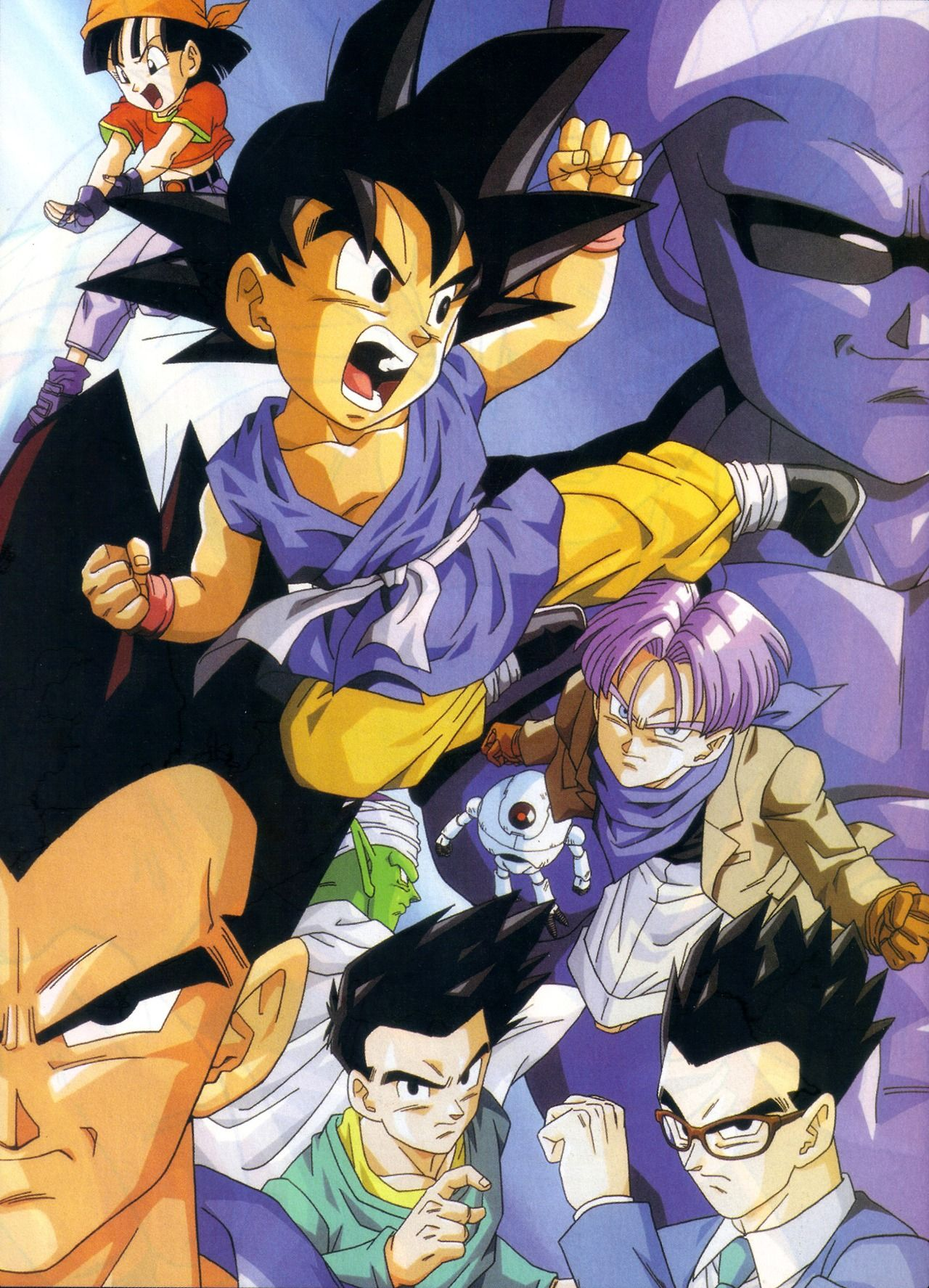 Goku Vegeta Gohan Goten Piccolo Baby Trunks Giru And Pan