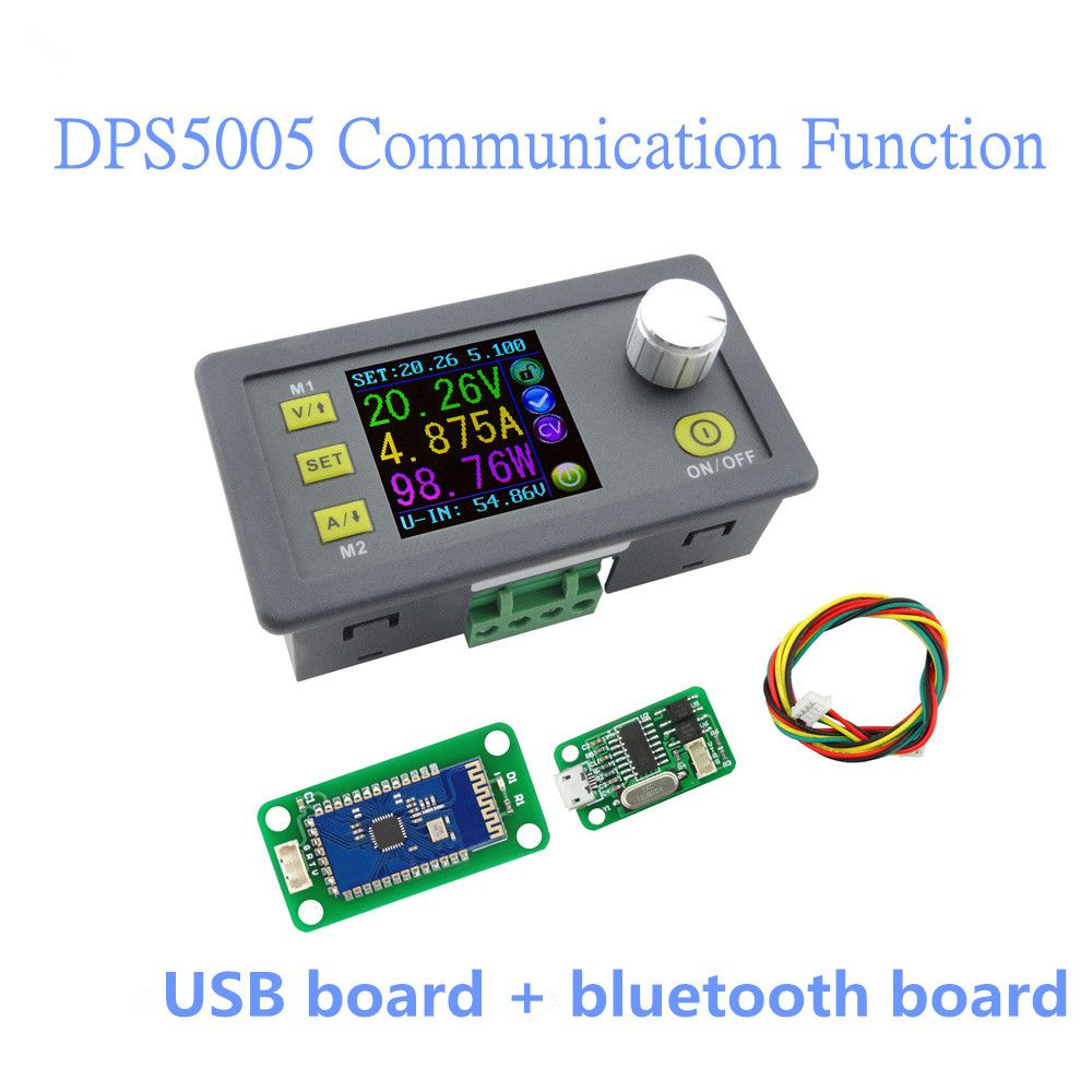 Dps5005 Communication Function Constant Lcd Voltmeter Ammeter Electronic Voltmeters Voltage Current Step Down Power Supply Module 40off Affiliate