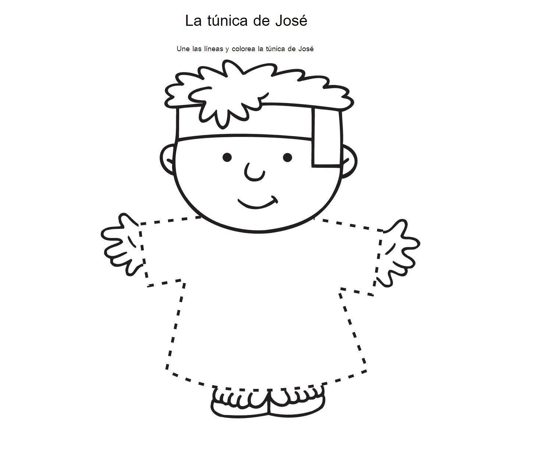 Une los puntos y viste a José | parvulines | Escuela Sabática ...