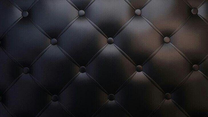 Black Leather Vintage Sofa Wallpaper Textures Patterns