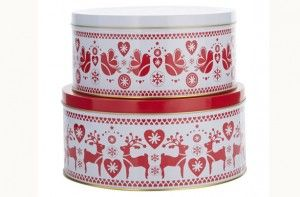 Top 100 Christmas food gifts for 2014 - Red and white Christmas cake ...