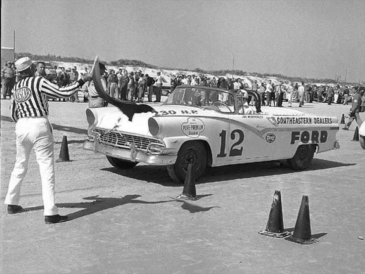 "1955 (12) ""Southeastern Dealers"" Ford Fairlane, NASCAR"
