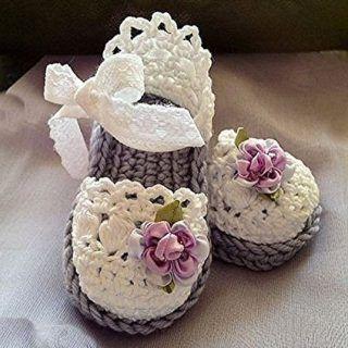 Kız Bebek Patiği Çeşitleri #crochetbabyboots